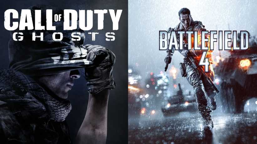 battlefield 4 vs call of duty ghosts