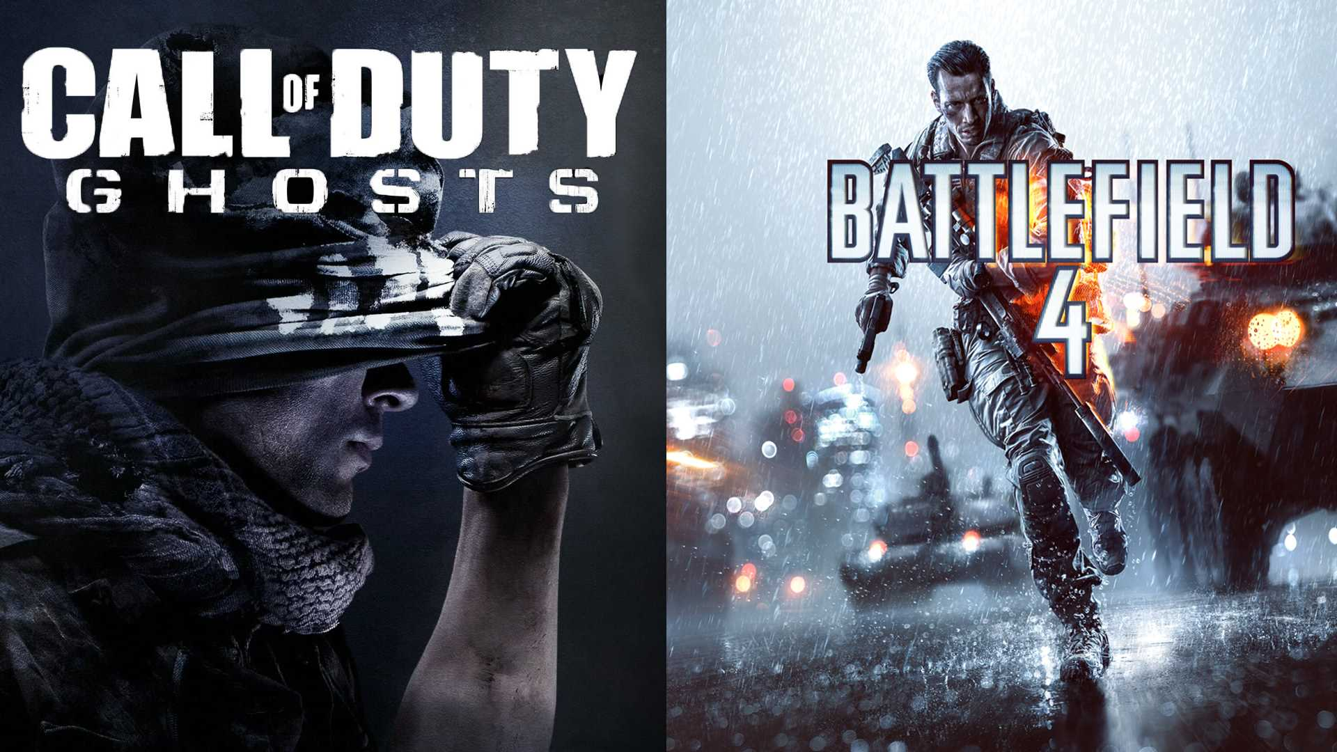 Battlefield 4 vs Call of Duty Ghosts - netivist