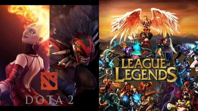 Dota 2 Vs League Of Legends Best Moba Game Netivist