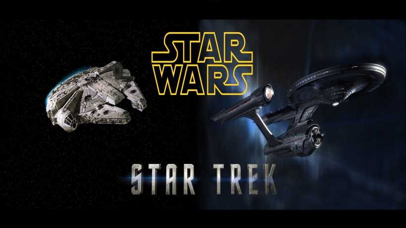 Star Wars vs Star Trek: best space opera