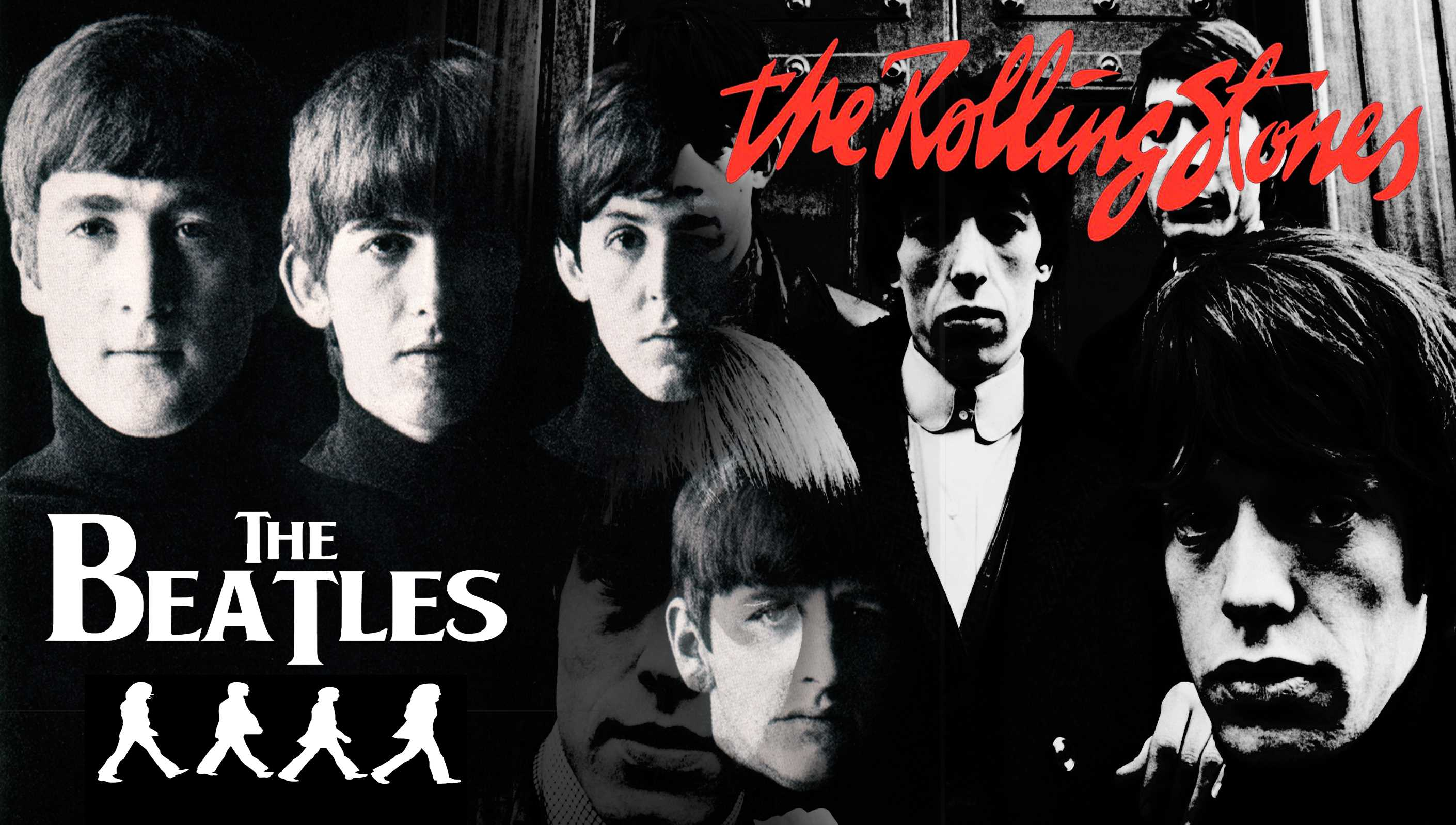 a comparison of the beatles and the rolling stones Beatles were pop stones were rock that's overly simplistic just like saying the beatles were innovators and the stones were followers but in the most.
