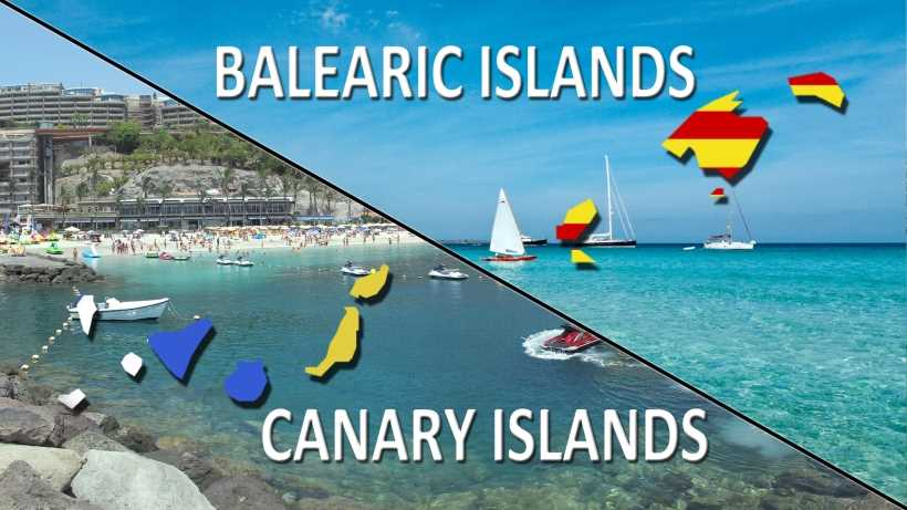 best spanish islands canary balearic