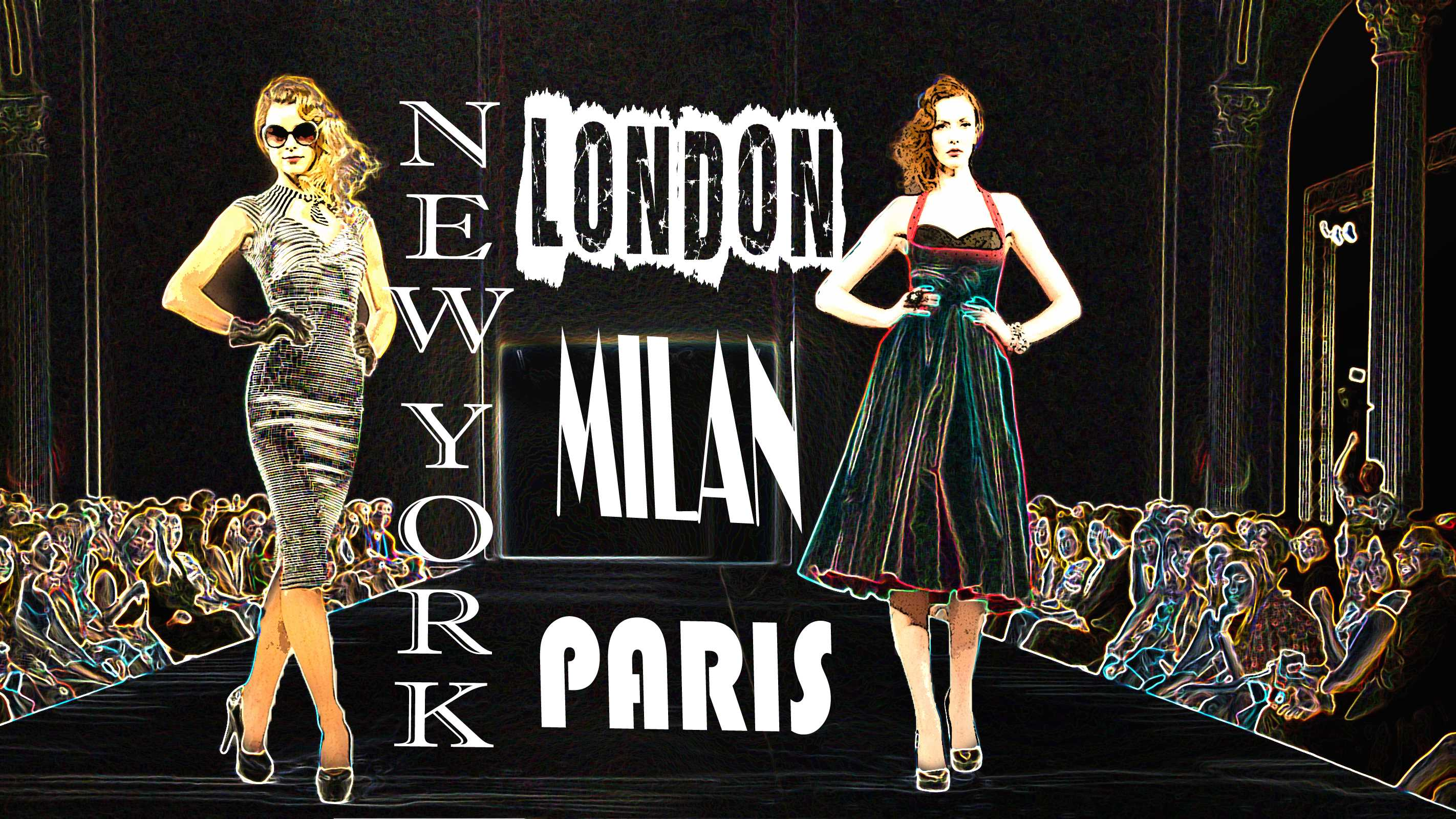 Image Wallpaper » Fashion Capital Of The World