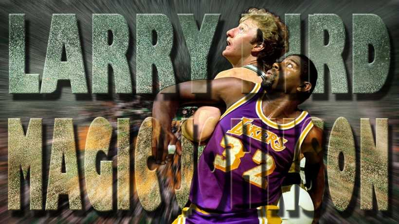 larry bird vs magic johnson
