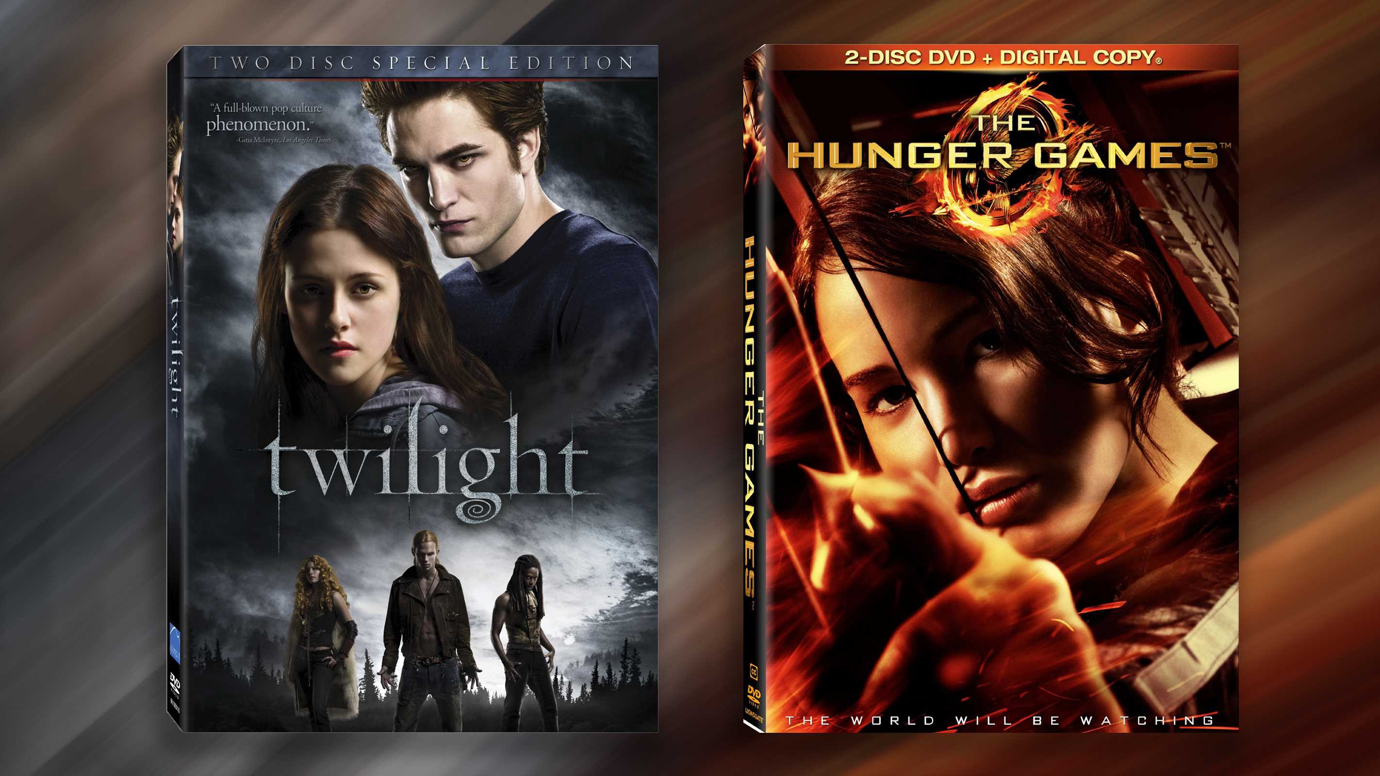 twilight and hunger games Comparing twilight and the hunger games, it's easy to see why second-wave feminists, and adults in general, find a girly teen so much less attractive than a tomboyish one.