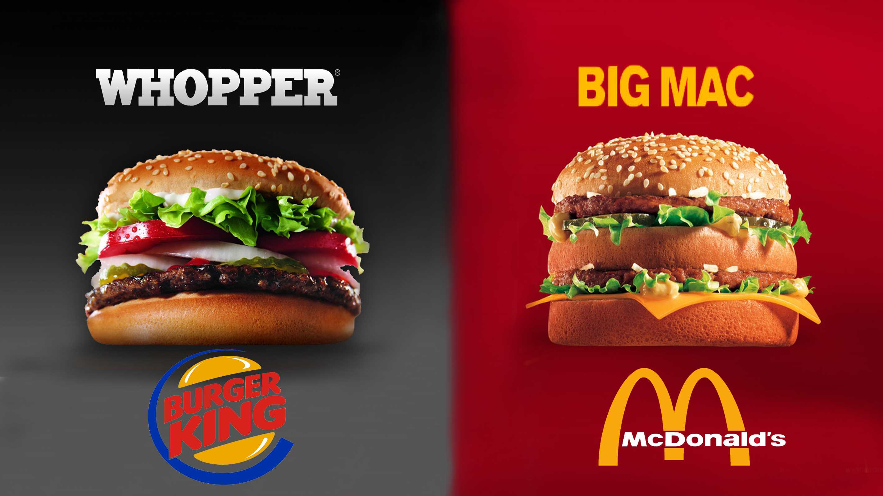 whopper vs big mac which burger taste better netivist. Black Bedroom Furniture Sets. Home Design Ideas