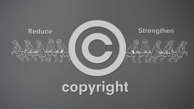 Copyright protection: should it be reduced or strengthened?