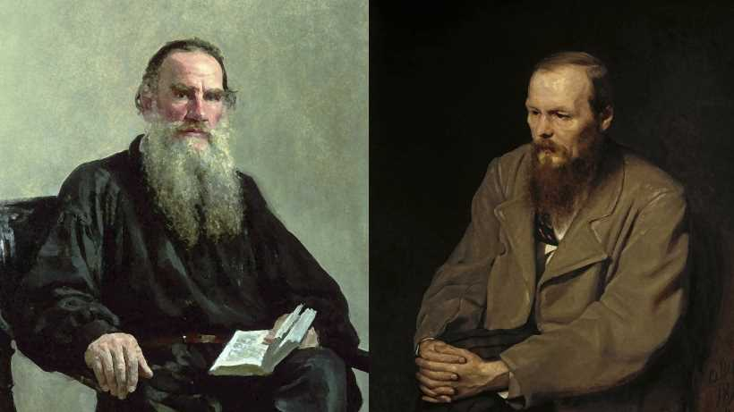 Fyodor Dostoyevsky and Leo Tolstoy greatest Russian novelist debate