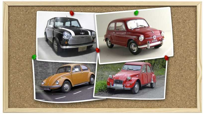 Cool Small Cars Mini 600 Beetle And 2CV