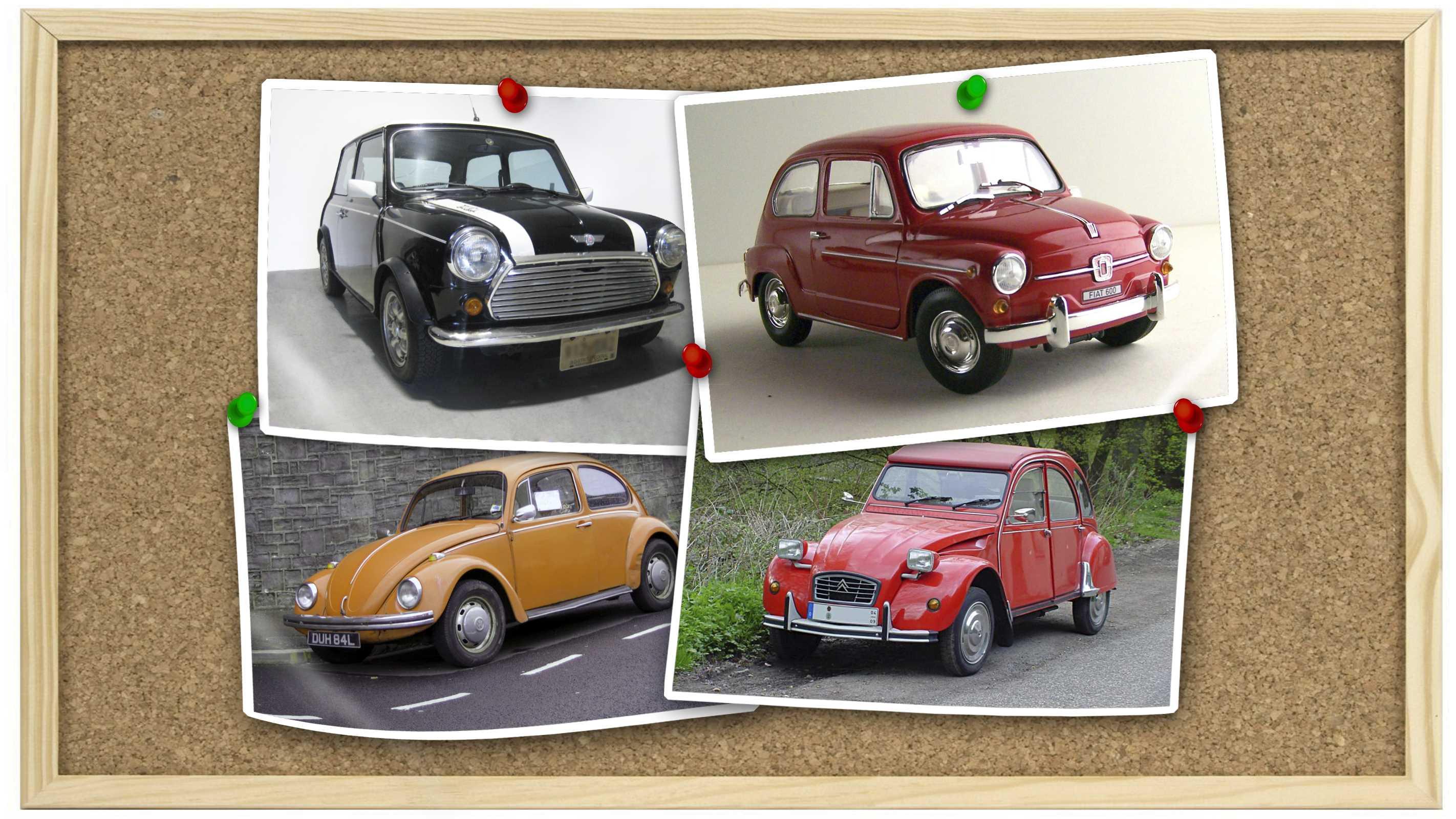 Cool small cars: Mini, 600, Beetle or 2CV - netivist
