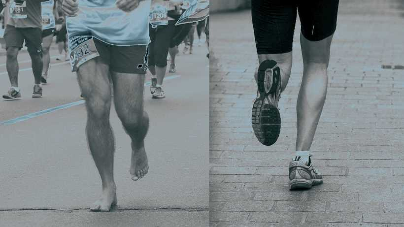 Barefoot running pros and cons