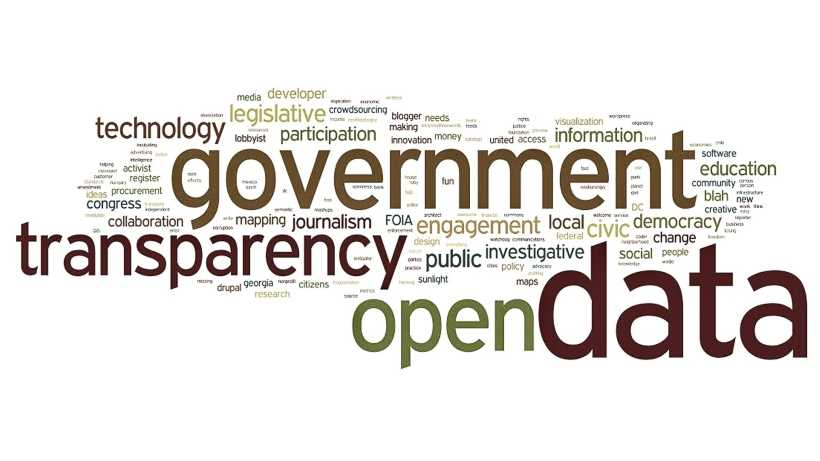transparency in government and open data