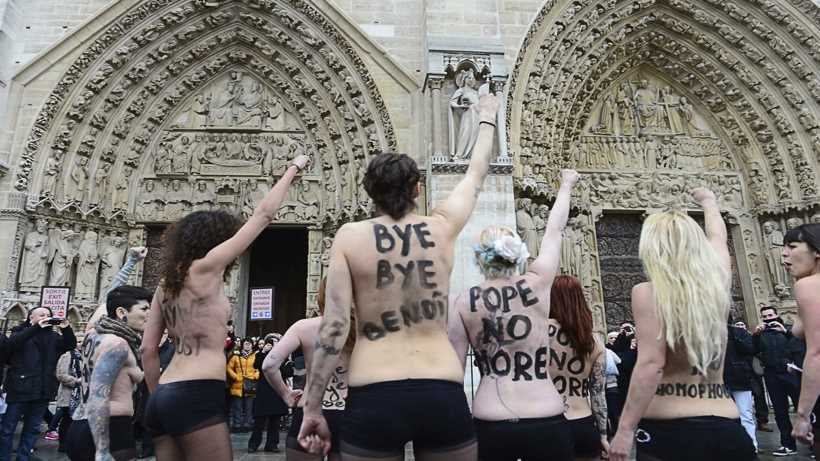 Femen protests: effective tools or counterproductive mistakes for feminism? Debate