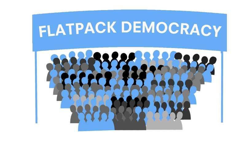 Flatpack Democracy: should we rebel against the system? Local level politics