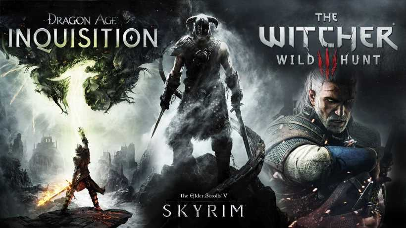 Dragon Age vs The Witcher vs Elder Scrolls. Best RPG video game series