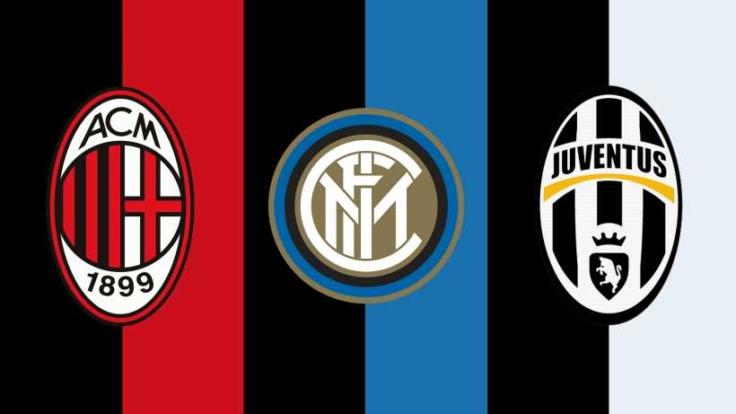 Calcio: Best serie A team, Juventus vs Milan vs Inter