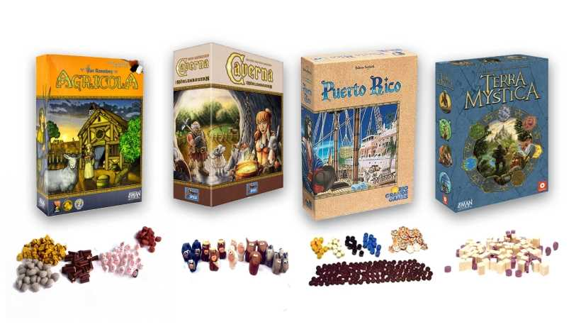 Agricola, Terra Mystica, Caverna or Puerto Rico: which eurogame do you prefer?