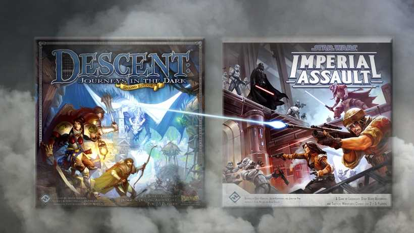 Best dungeon crawler board game: Star Wars Imperial Assault or Descent Second Edition