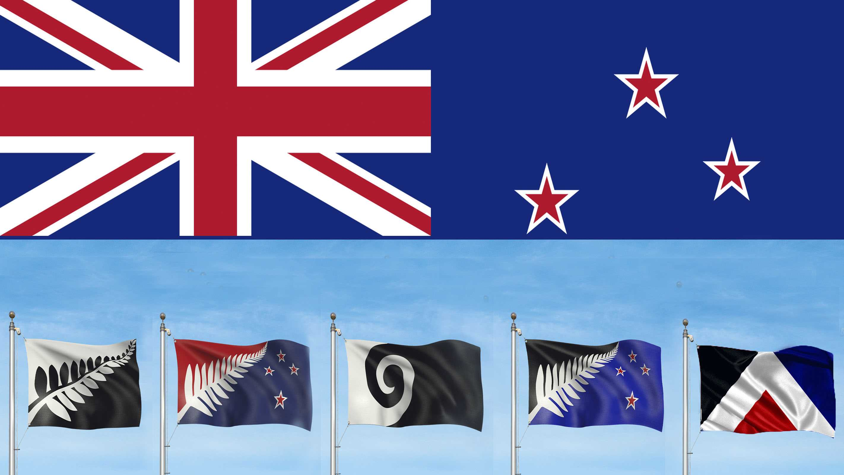new zealand flag - photo #16