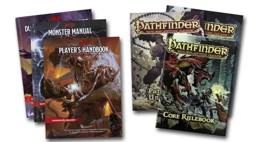 Best pen and paper fantasy rpg: D&D (5th edition) or Pathfinder