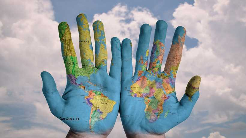 states and nations: the world in your hands