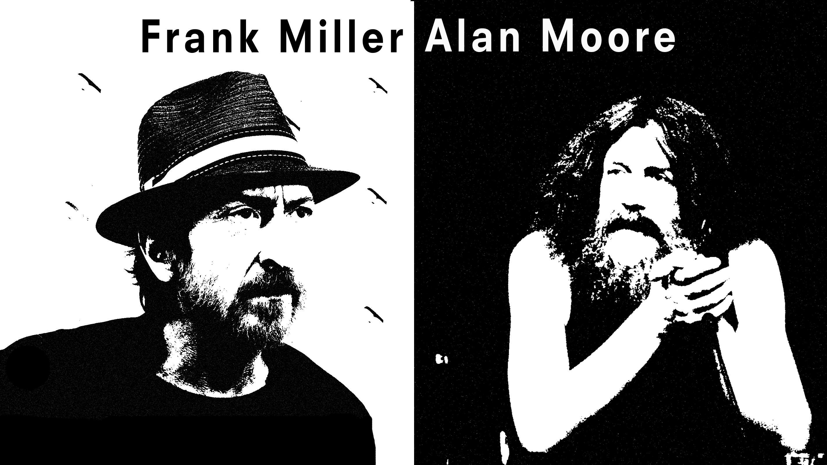 best comic book writers alan moore vs frank miller netivist best comic book writers