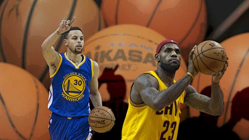 stephen curry vs lebron james