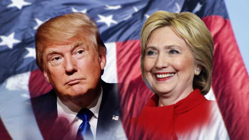 trump vs clinton who will be the next president netivist. Black Bedroom Furniture Sets. Home Design Ideas