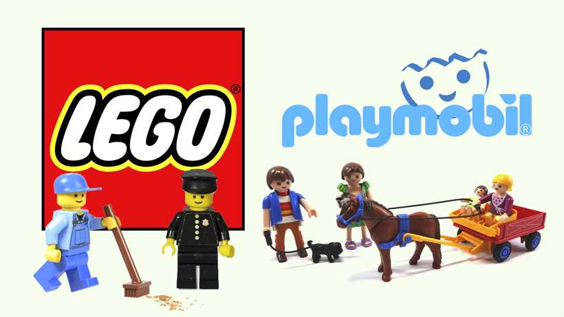 Lego vs Playmobil