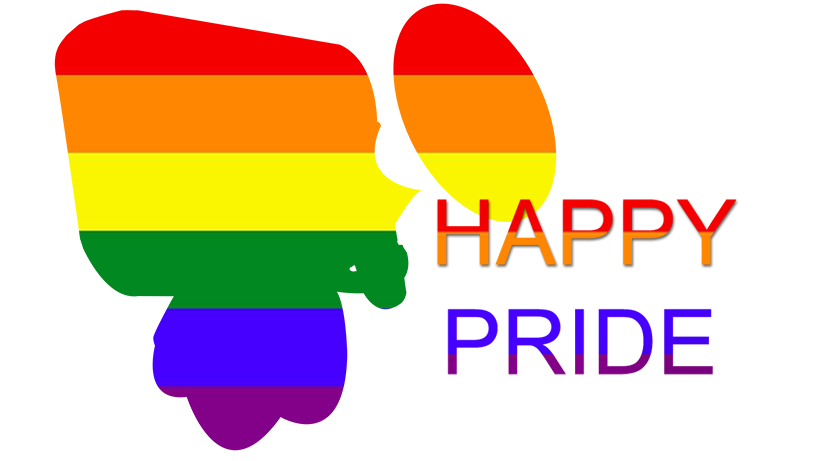 happy LGBT pride